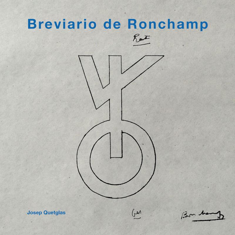 BREVIARIO DE RONCHAMP: portada