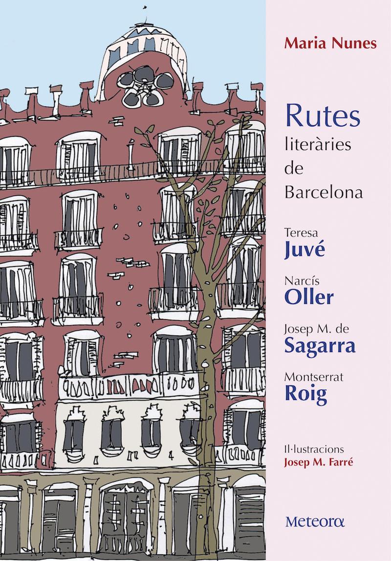 Rutes literàries de Barcelona: portada