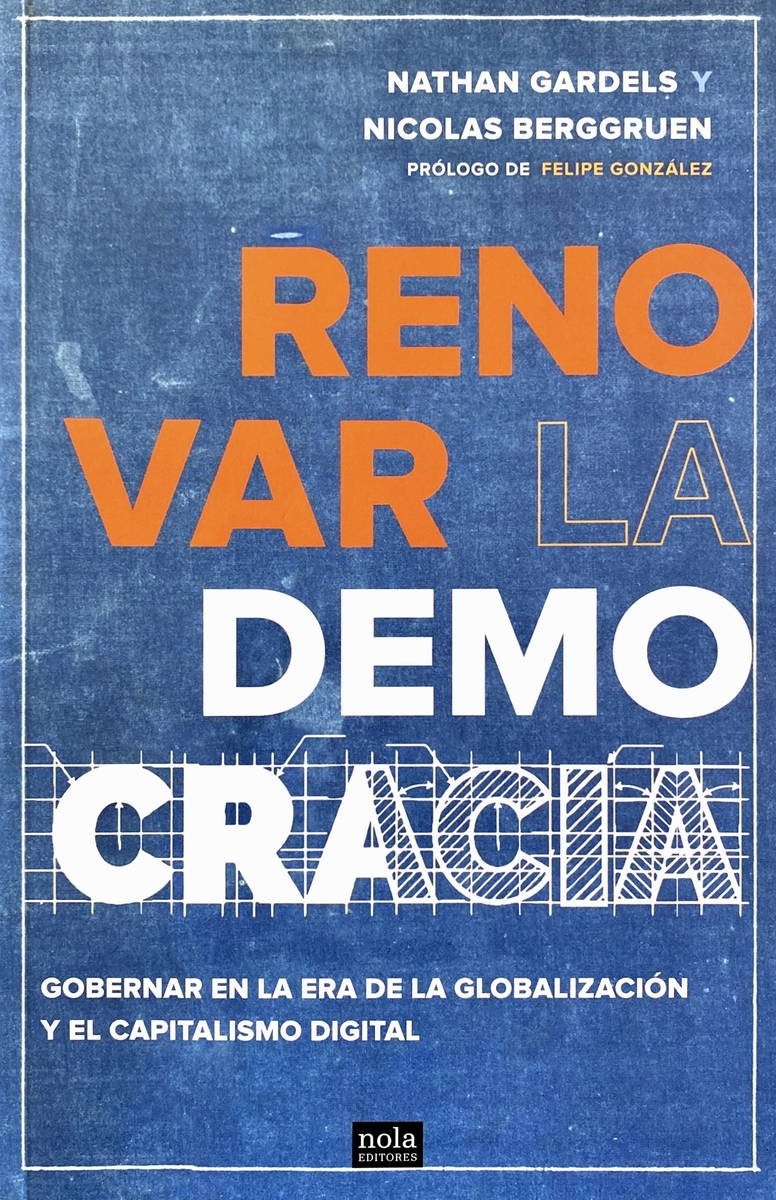 Renovar la democracia: portada