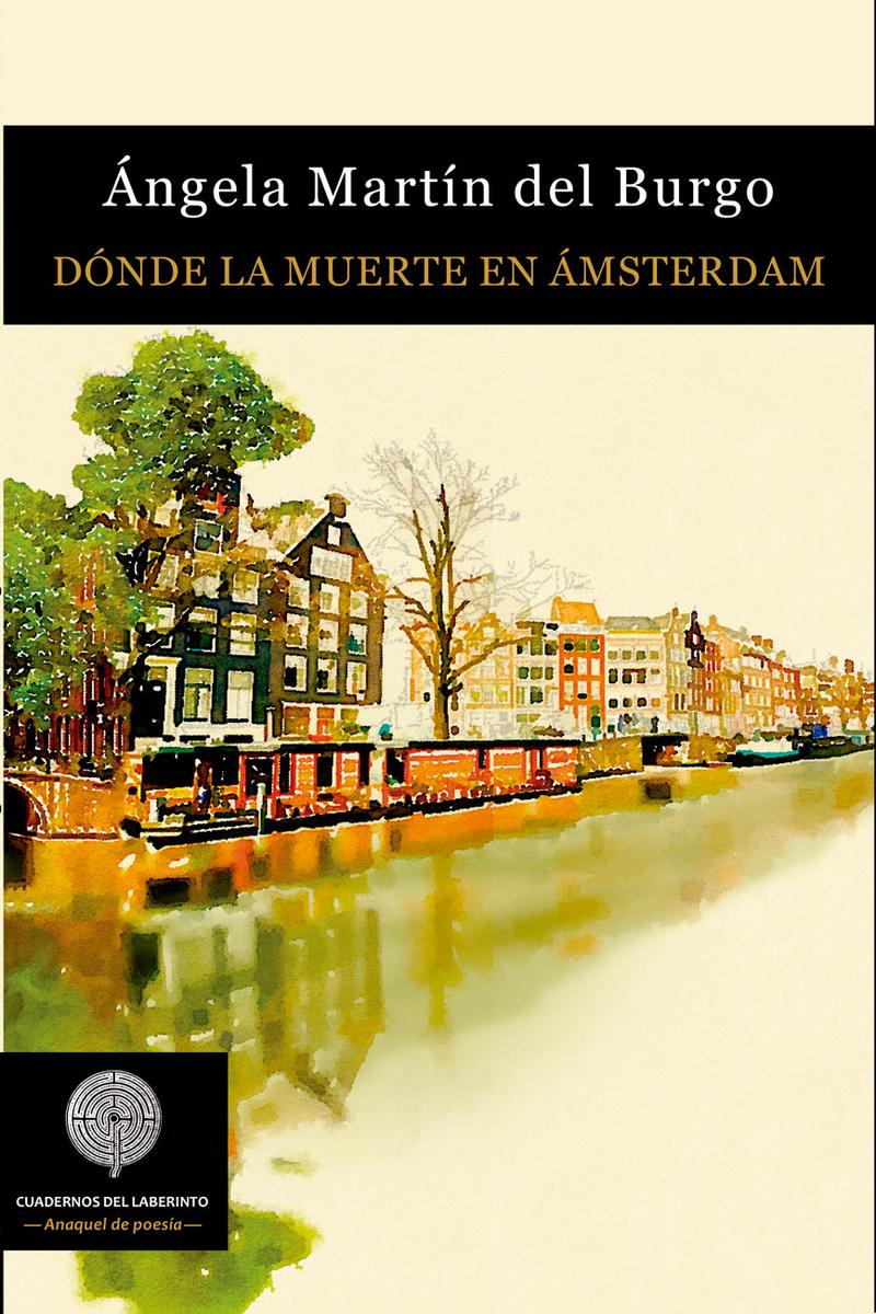 Dónde la muerte en Ámsterdam: portada