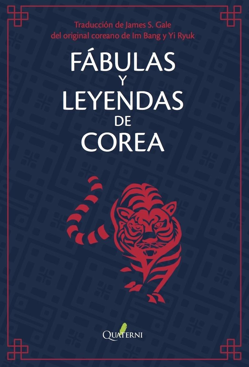 FÁBULAS Y LEYENDAS DE COREA: portada
