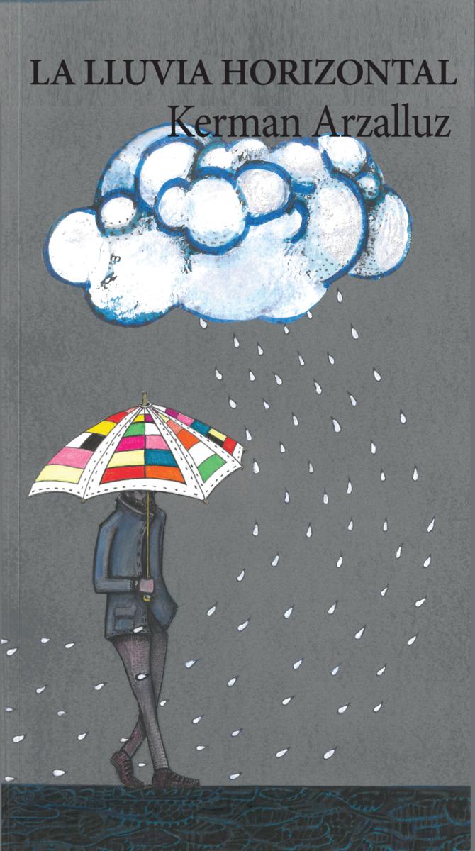 La lluvia horizontal: portada