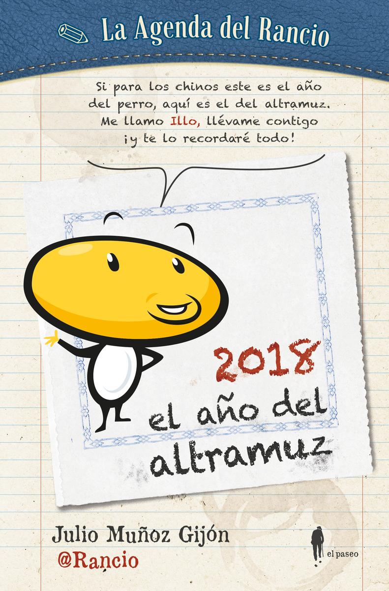 La agenda del @Rancio. El año del altramuz: portada