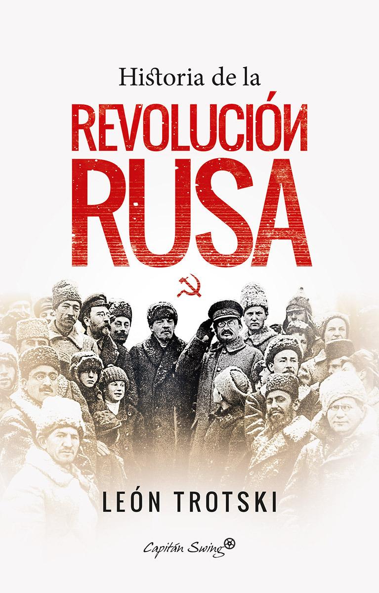 Historia de la revolución rusa: portada
