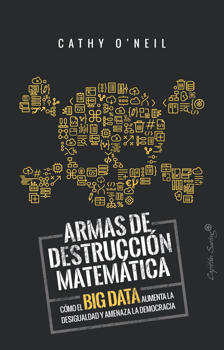 Armas de destrucción matemática: portada