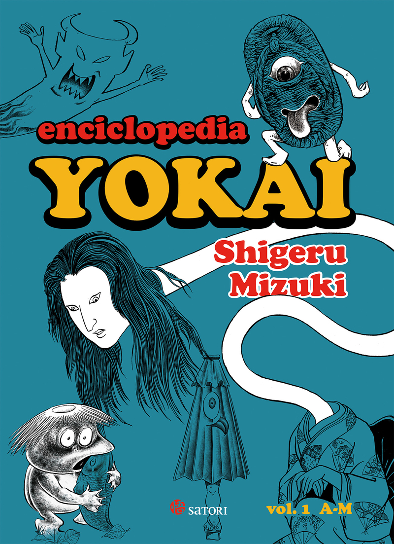 ENCICLOPEDIA YOKAI 1: portada