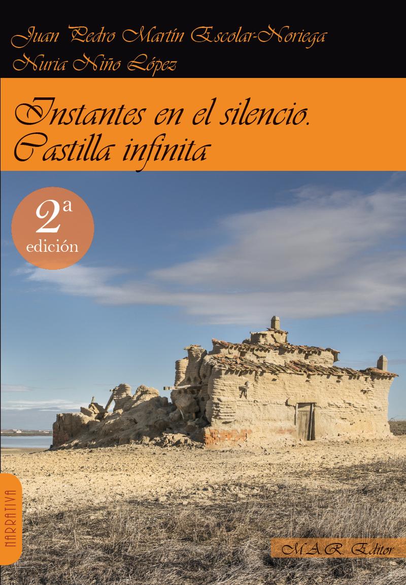 Instantes en el silencio. Castilla infinita.: portada