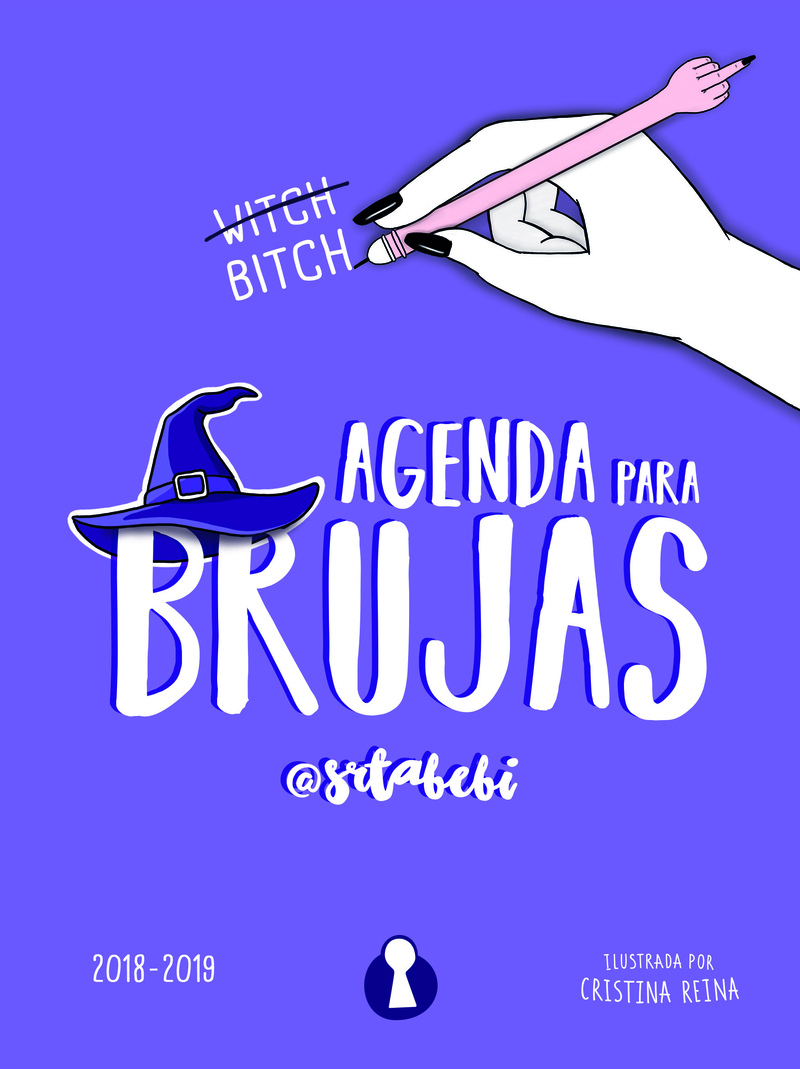 AGENDA PARA BRUJAS. 2018 - 2019 (EDICIÓN ESCOLAR LIMITADA): portada