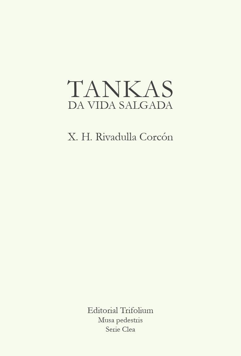 TANKAS DA VIDA SALGADA: portada
