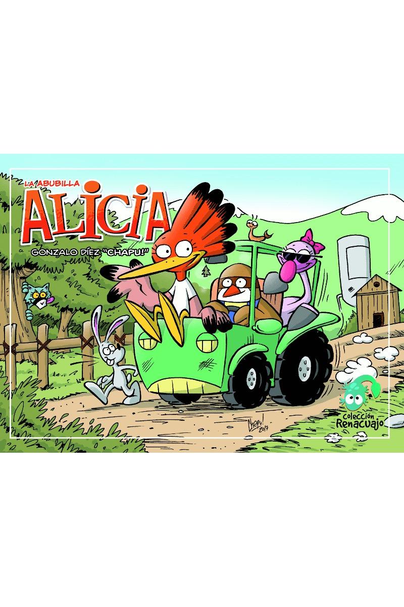 La Abubilla Alicia: portada