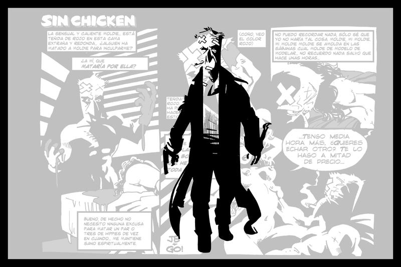 Pollo Letal: portada