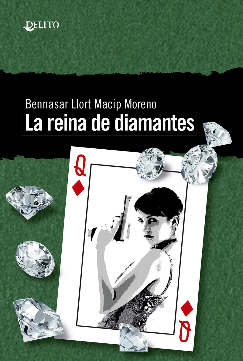 La reina de diamantes: portada