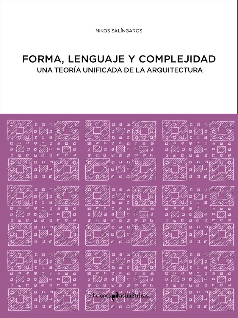 FORMA, LENGUAJE Y COMPLEJIDAD: portada
