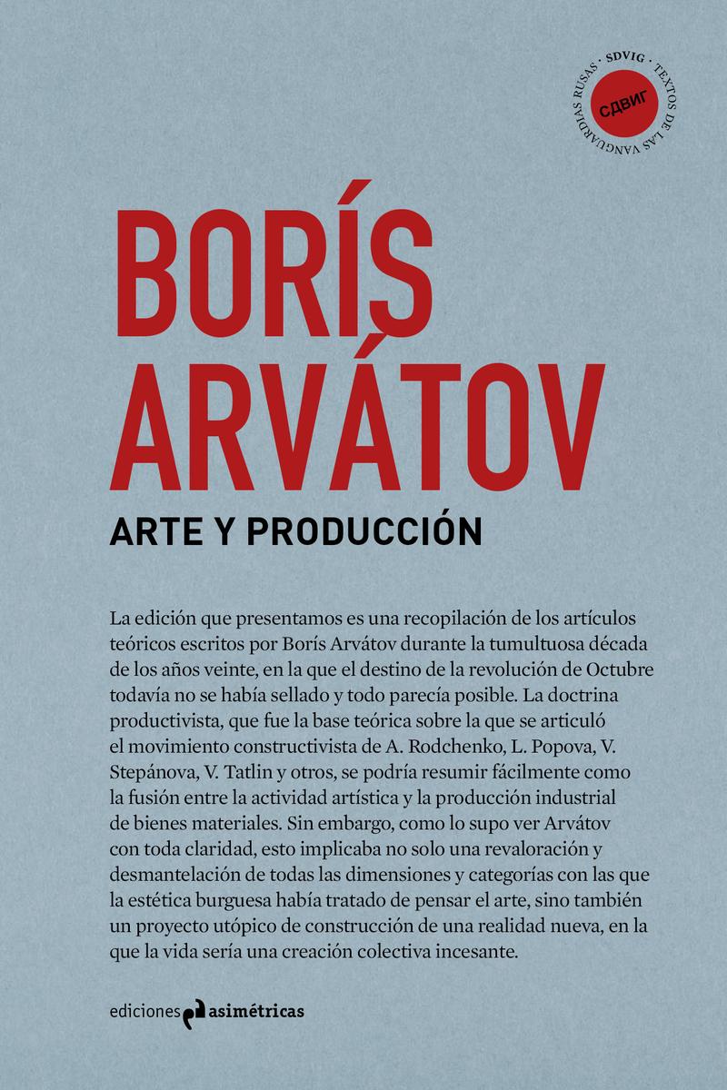 ARTE Y PRODUCCIÓN: portada