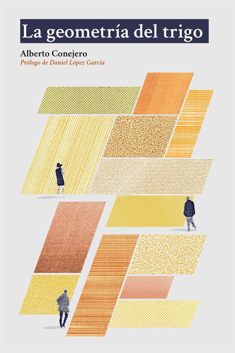 geometría del trigo, La: portada