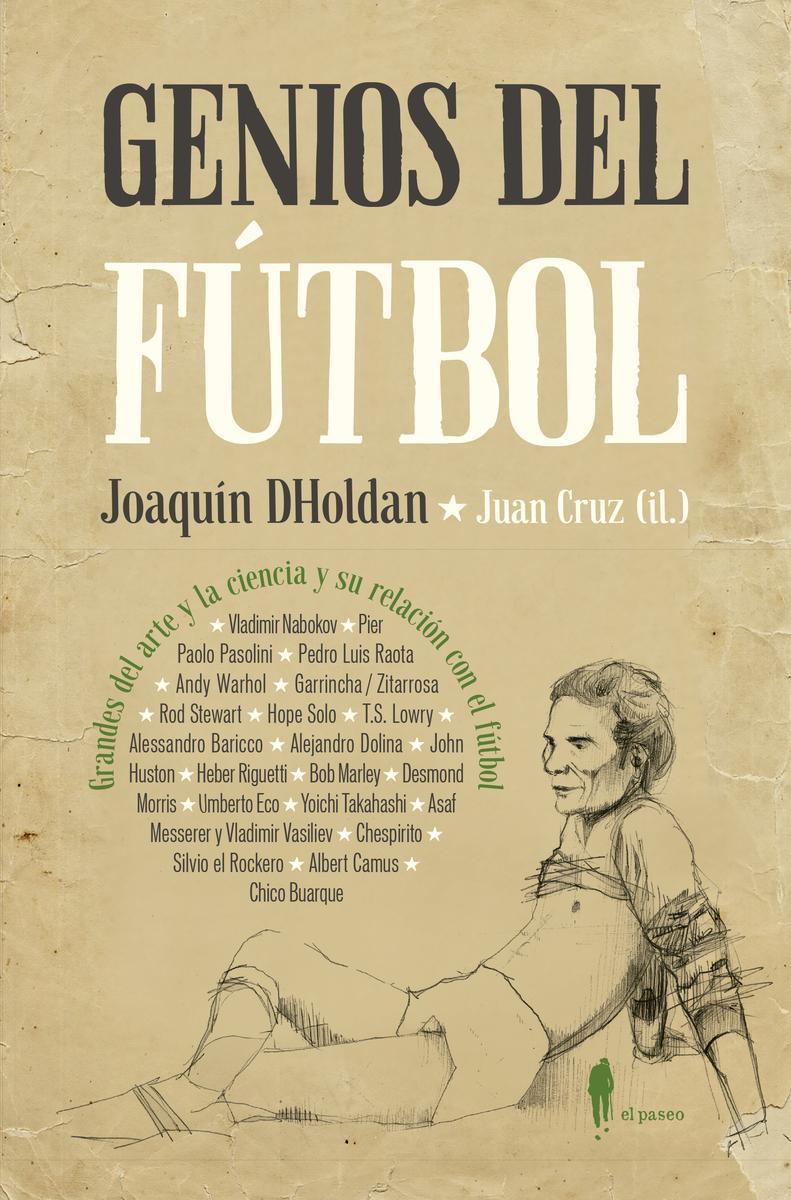 Genios del fútbol: portada