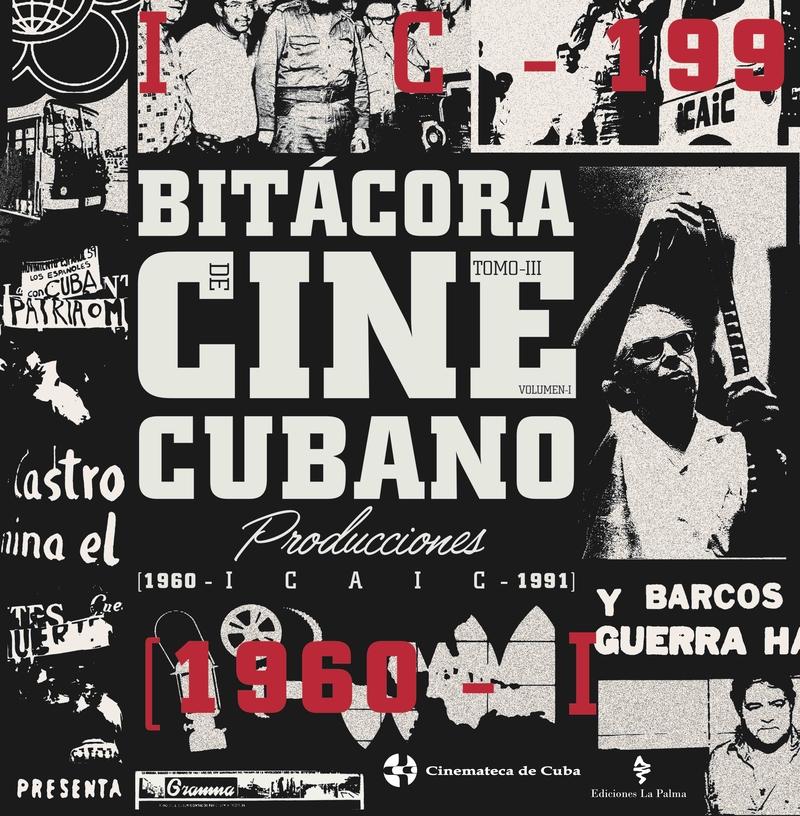 Bitácora del cine cubano. Tomo III: portada