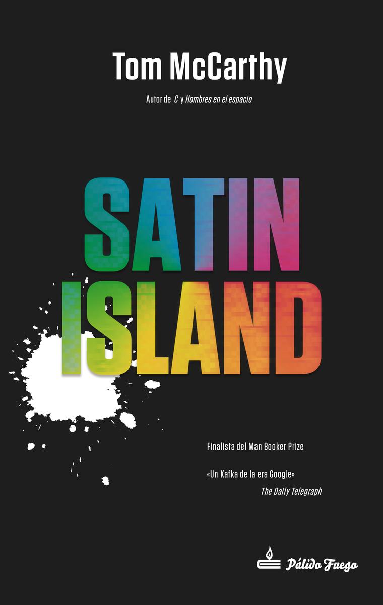 Satin Island (NE): portada
