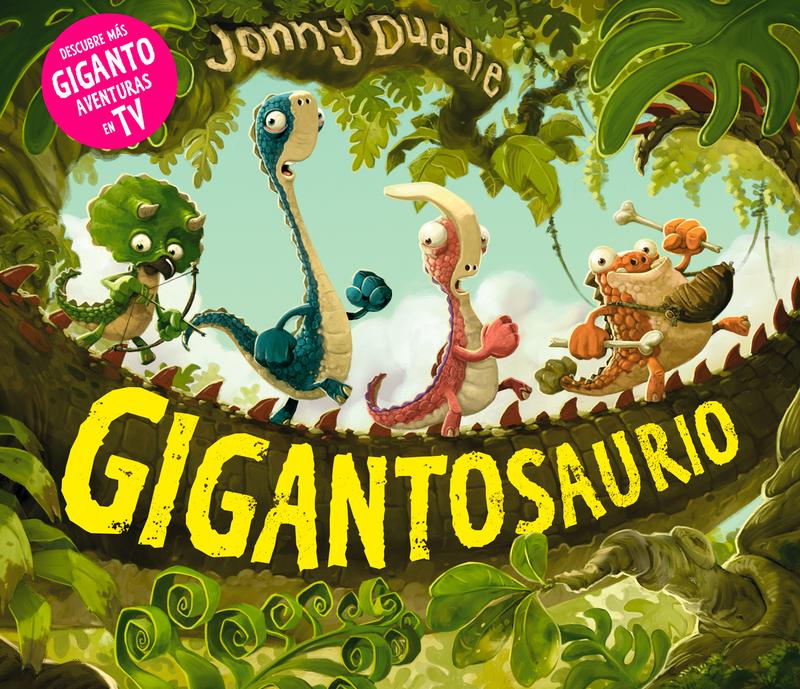 Gigantosaurio (NE): portada