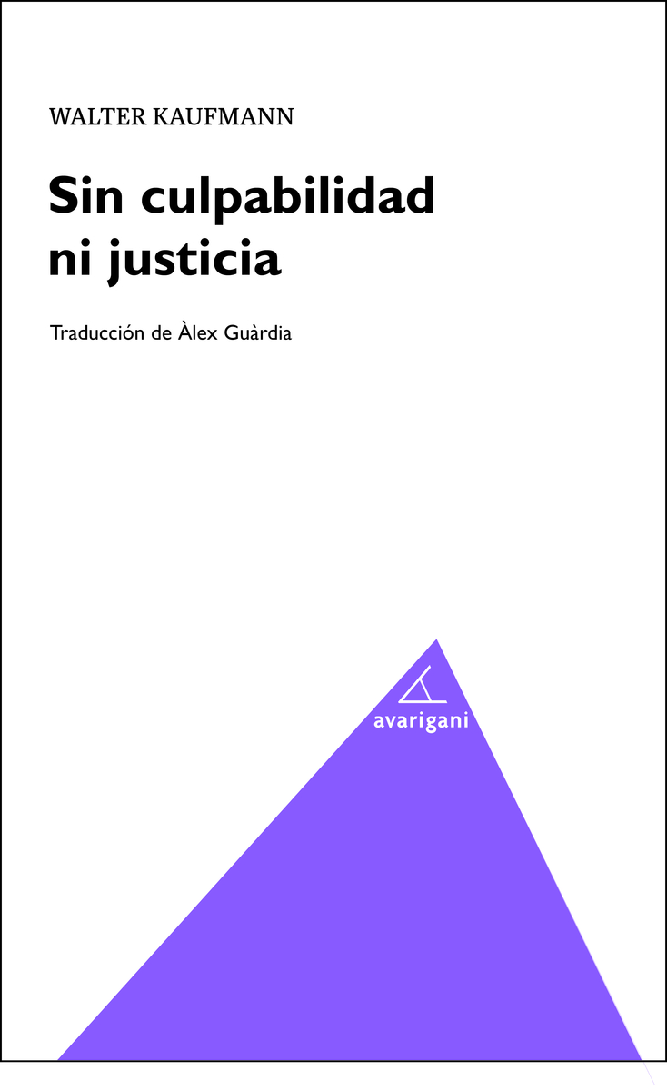 Sin culpabilidad ni justicia: portada