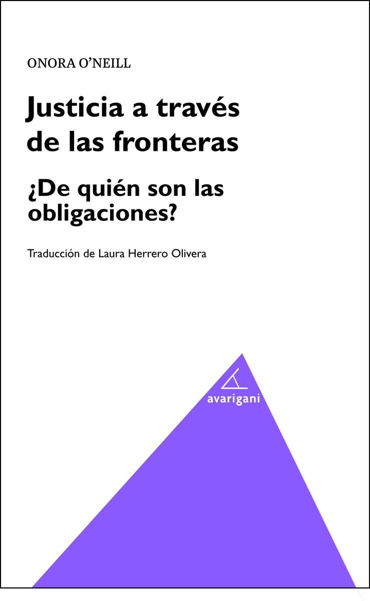 Justicia a través de las fronteras: portada