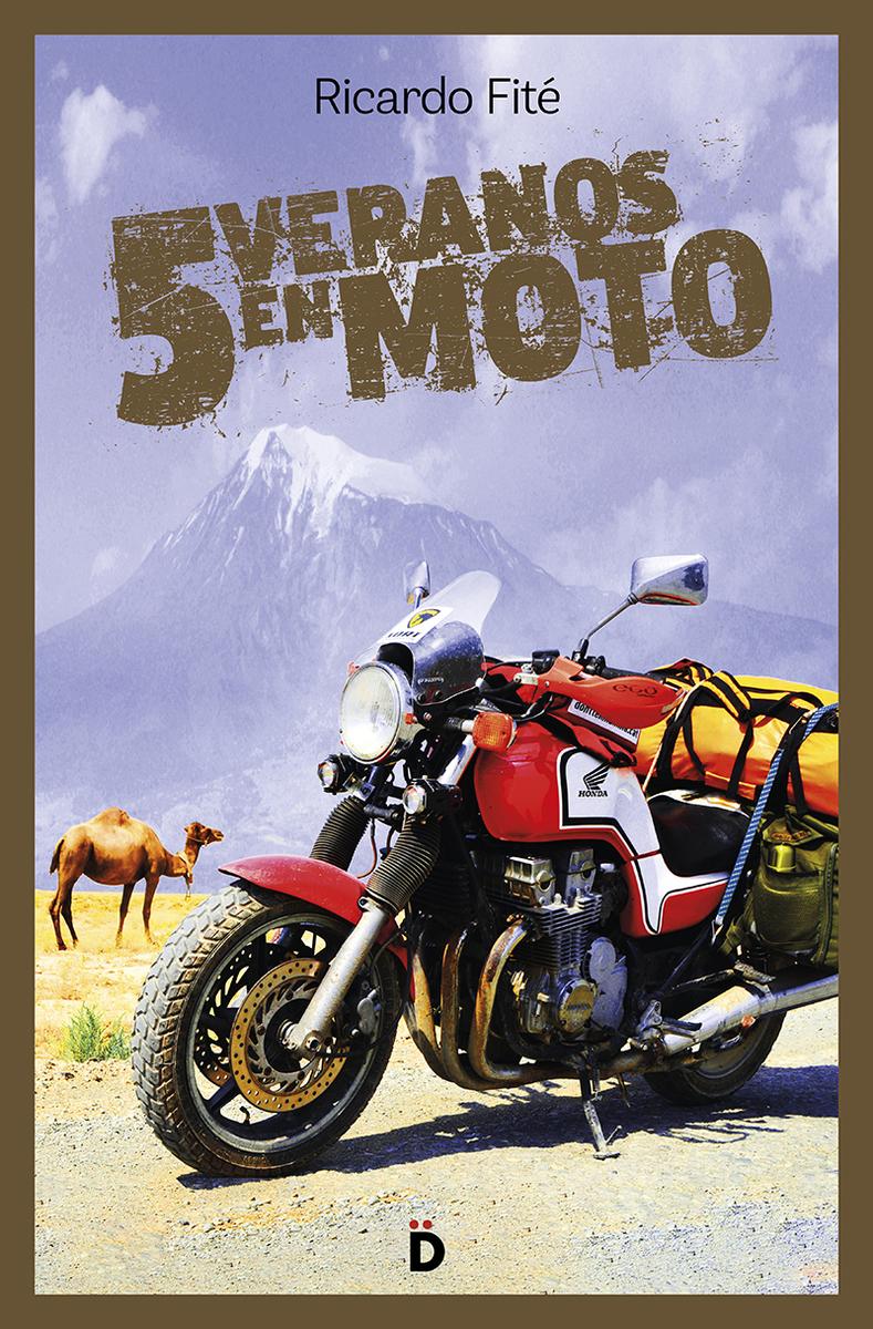 Cinco veranos en moto: portada