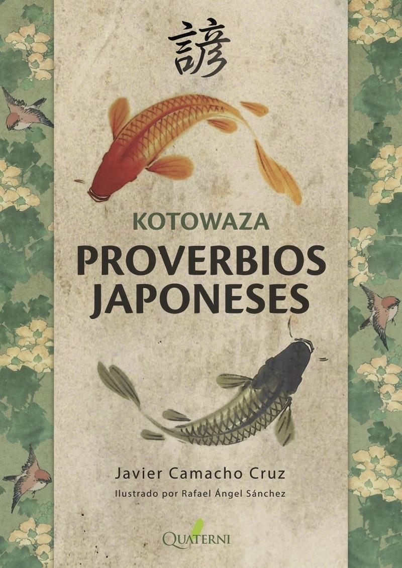 KOTOWAZA. PROVERBIOS JAPONESES: portada