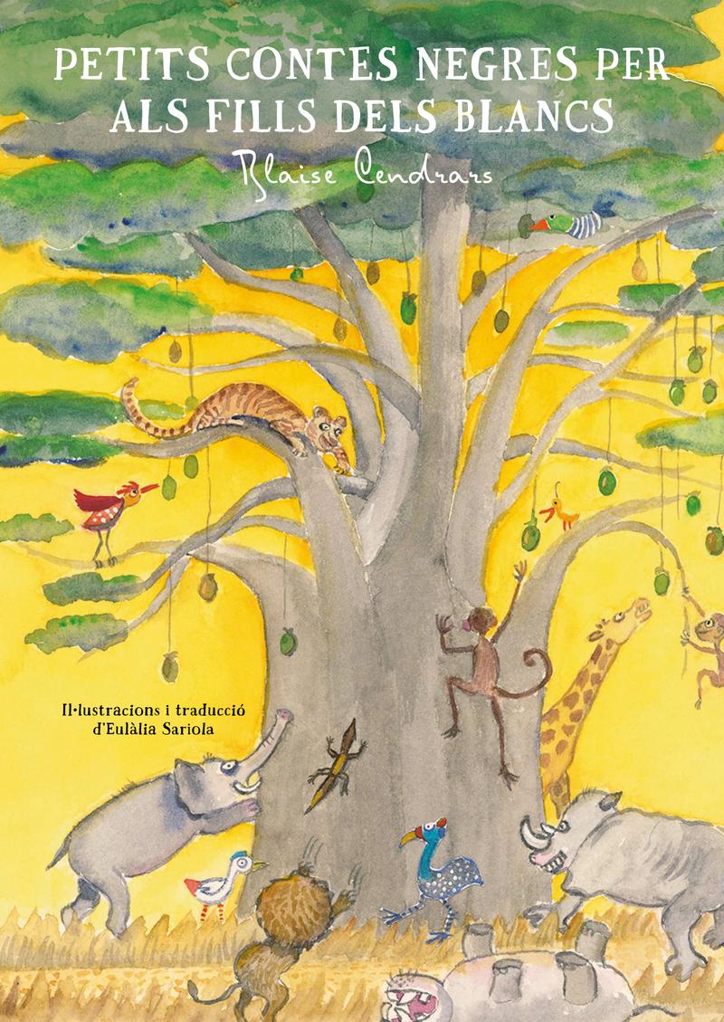 Petits contes negres per als fills dels blancs: portada
