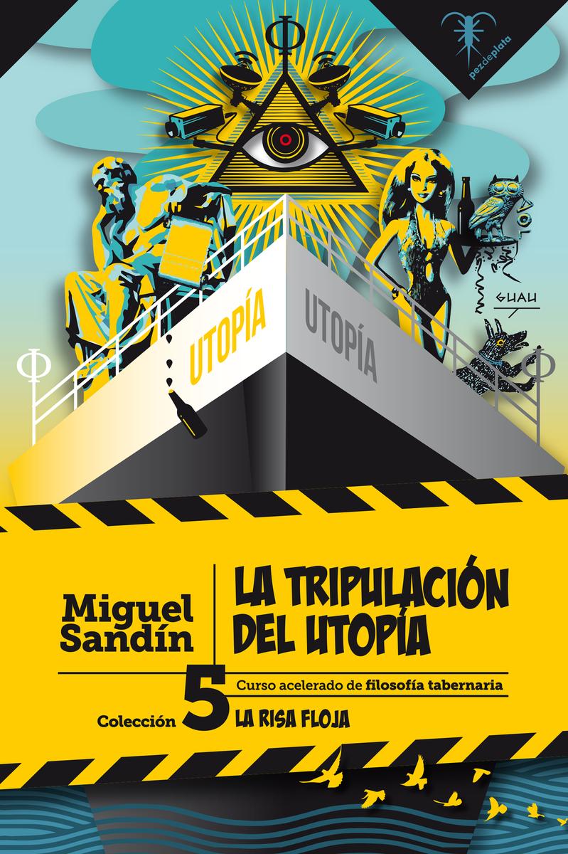 LA TRIPULACIÓN DEL UTOPÍA: portada