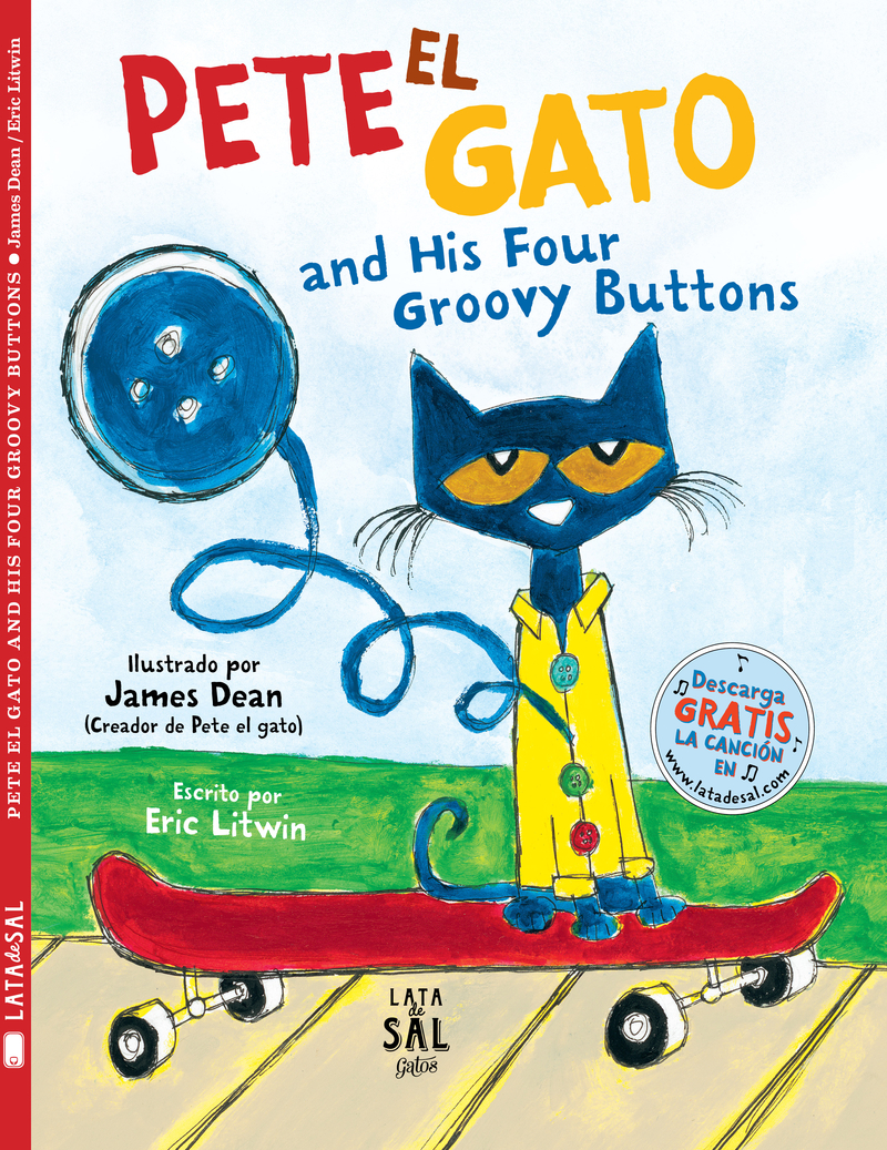 PETE EL GATO AND HIS FOUR GROOVY BUTTONS: portada