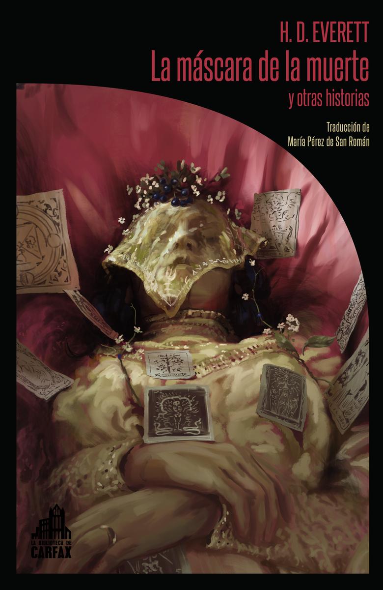 La máscara de la muerte y otras historias: portada