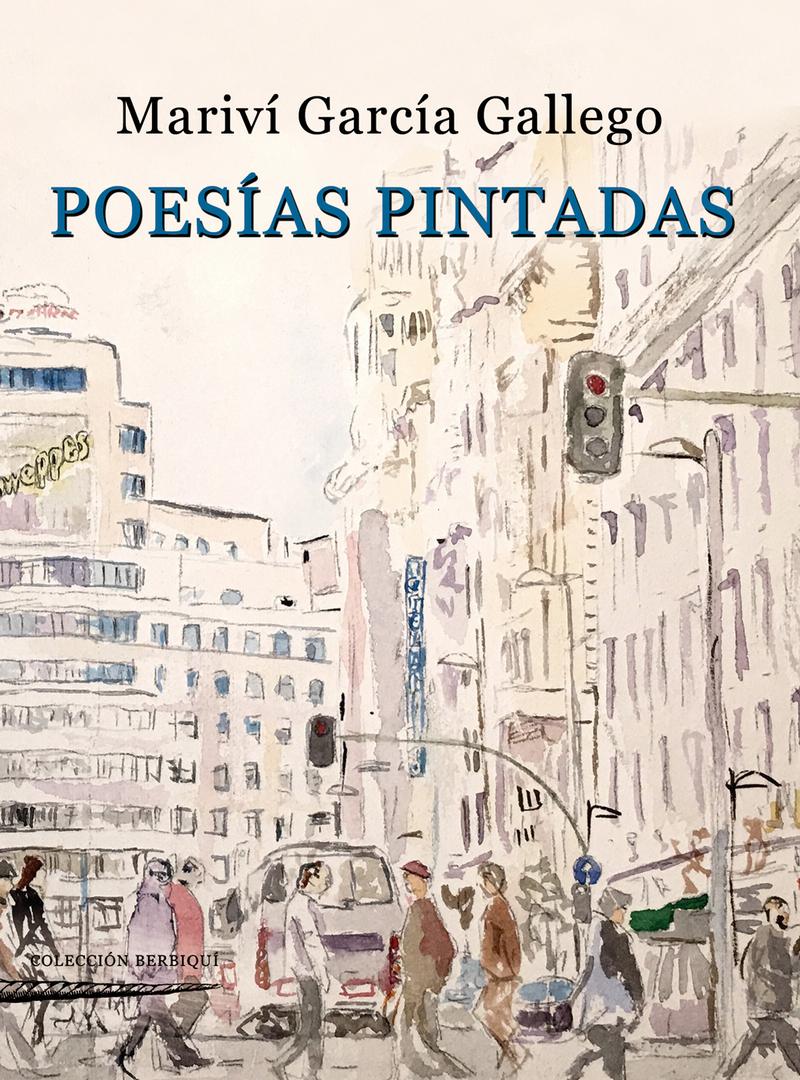 Poesías pintadas: portada