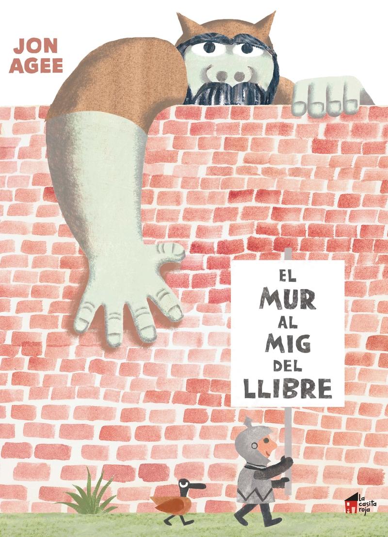MUR AL MIG DEL LLIBRE, EL - CAT: portada