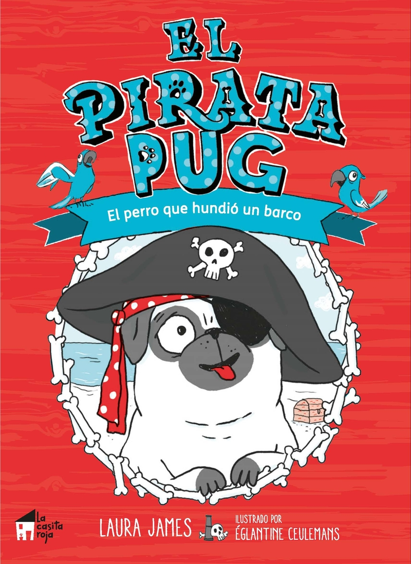 El pirata Pug: portada