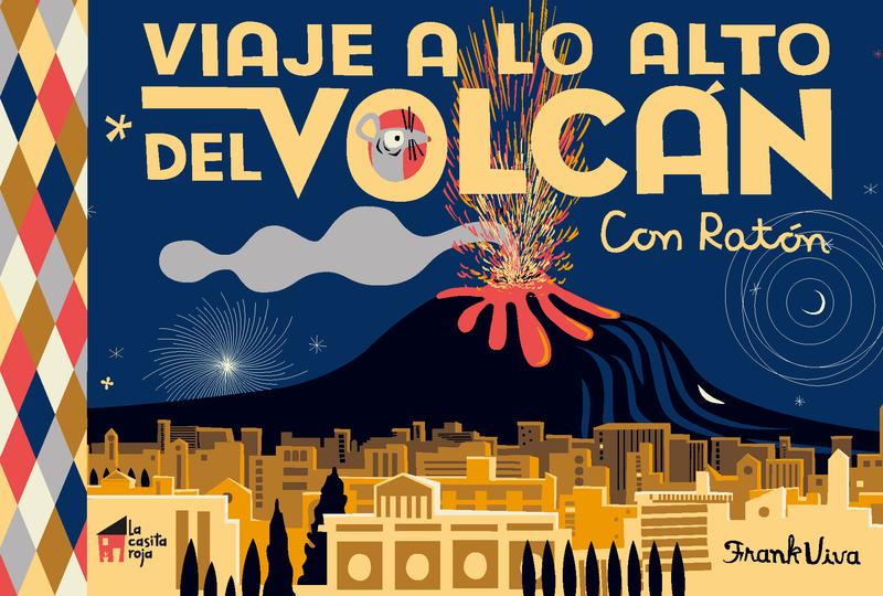 Viaje a lo alto del volcán: portada