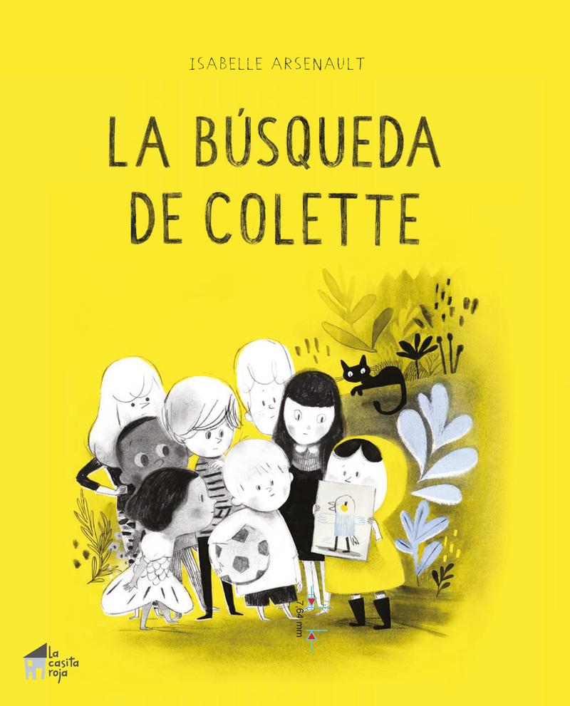 La búsqueda de Colette: portada