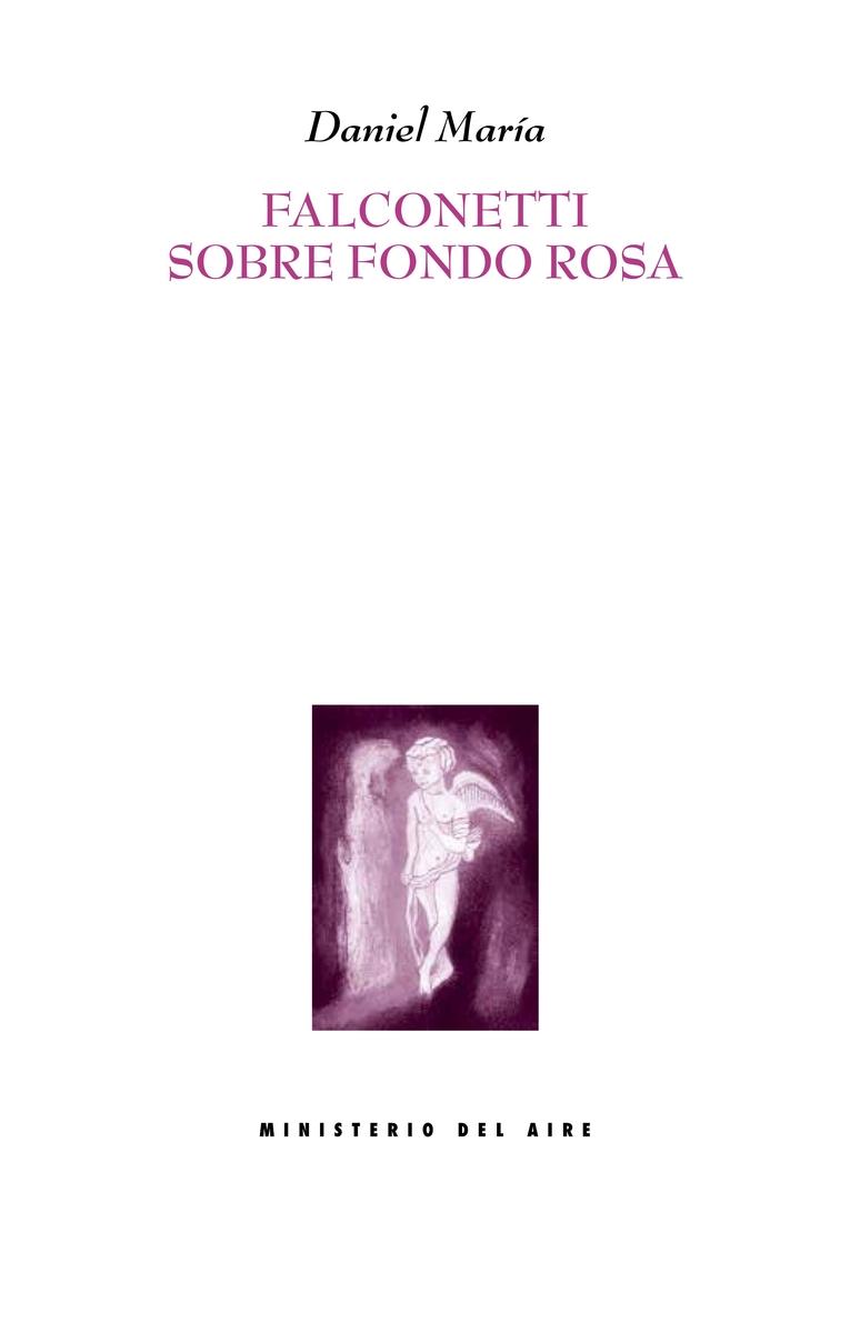 Falconetti sobre fondo rosa: portada