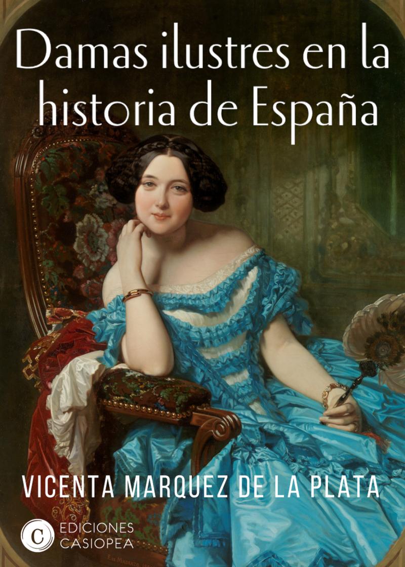 Damas ilustres en la historia de España: portada