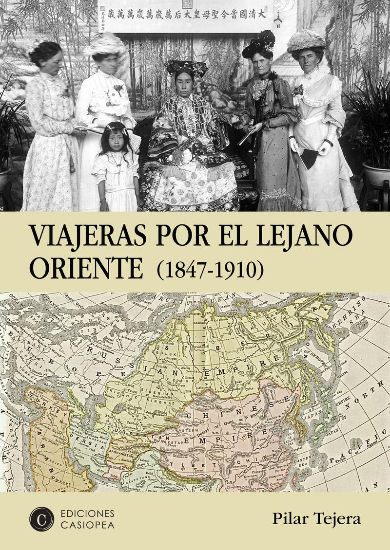VIAJERAS POR EL LEJANO ORIENTE: portada