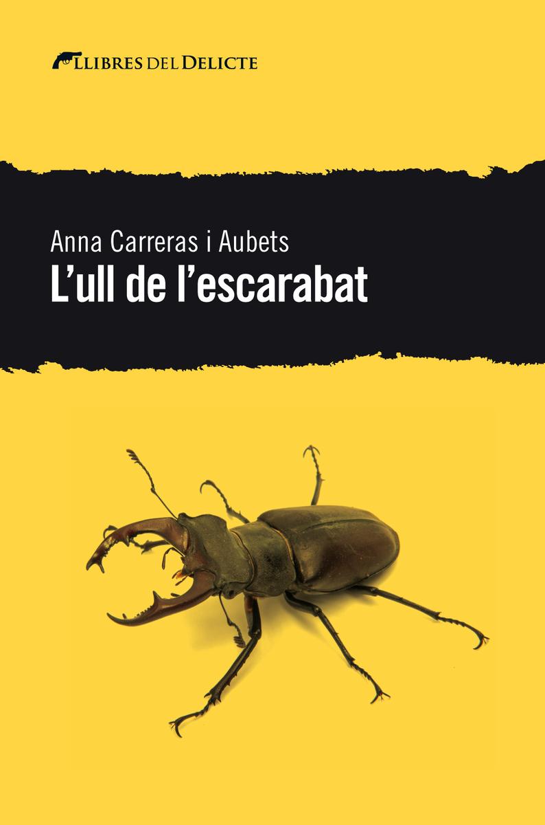 L'ull de l'escarabat: portada