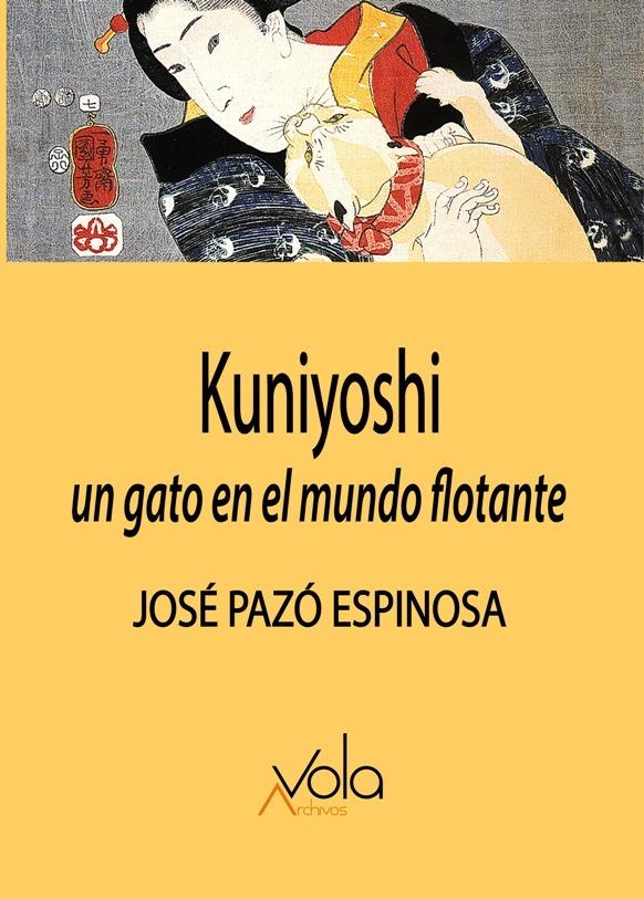 Kuniyoshi: un gato en el mundo flotante: portada