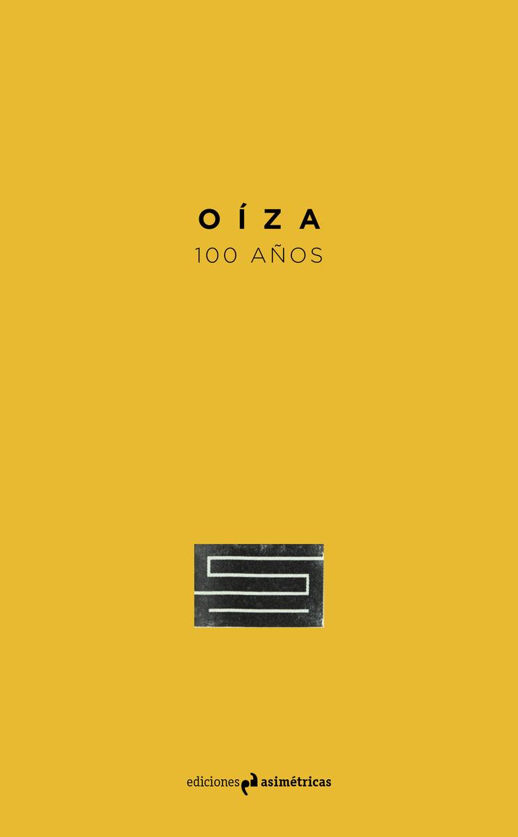 OÍZA. 100 AÑOS: portada