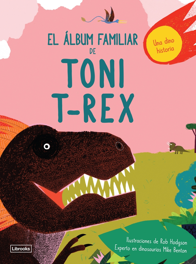 EL ÁLBUM FAMILIAR DE TONI T-REX: portada
