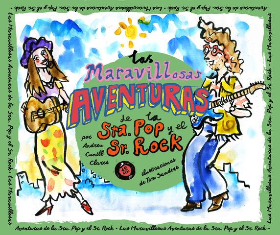 LAS MARAVILLOSAS AVENTURAS DE LA SRA. POP Y EL SR. ROCK: portada