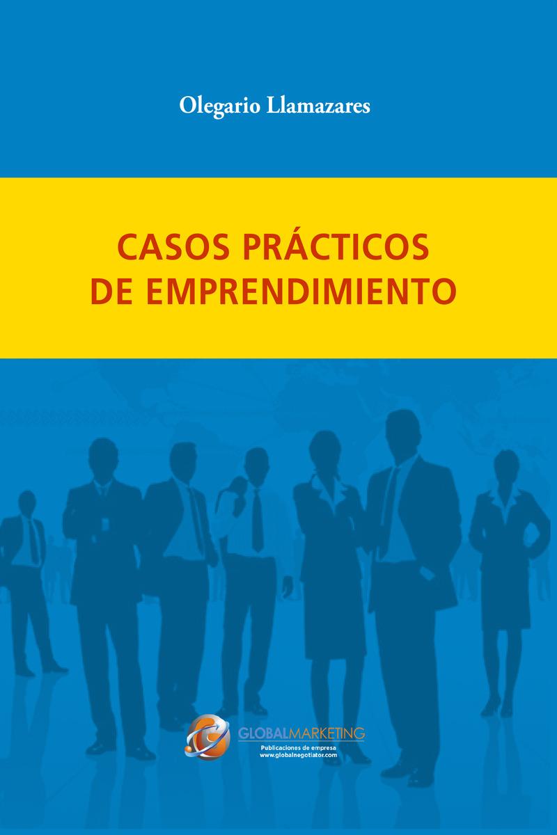 Casos Prácticos de Emprendimiento: portada