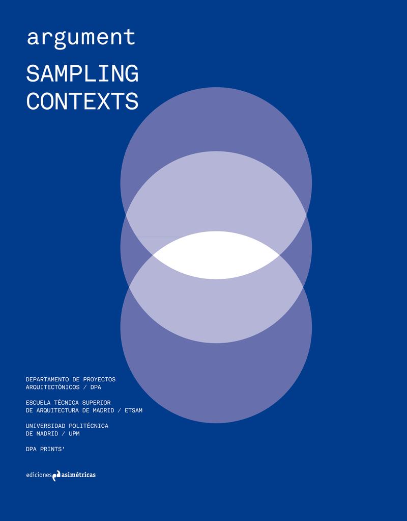 ARGUMENT #1: SAMPLING CONTEXTS: portada