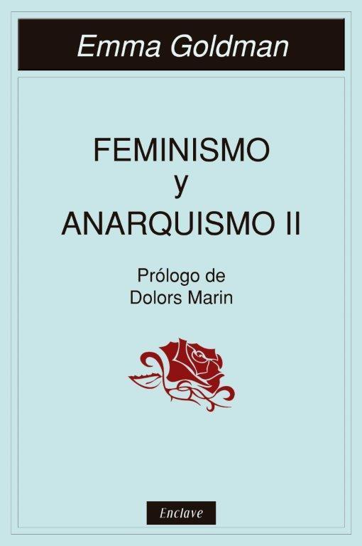 FEMINISMO Y ANARQUISMO II: portada