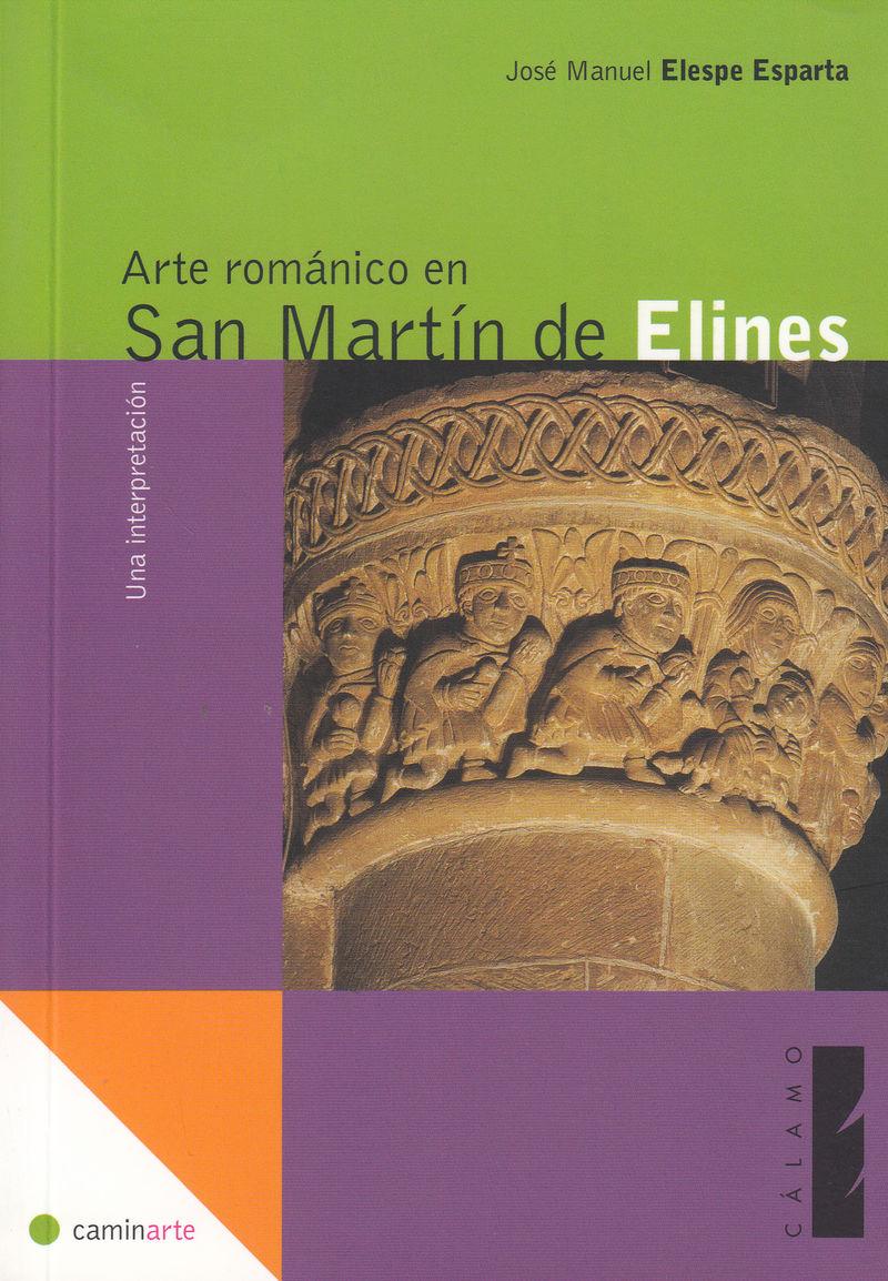 Arte románico en San Martín de Elines: portada