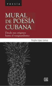 Mural de poesía cubana: portada