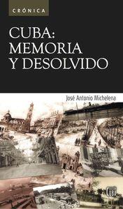 Cuba: Memoria y desolvido: portada